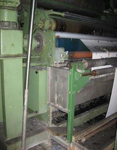 Krefeld, Kusters 222.56 / 2400 240 Cm Finishing Mangle