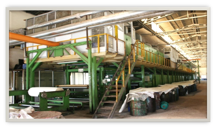 170 cm Used coating line for leather making