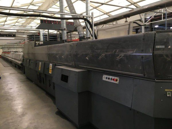 Harris, Heidelberg UB 336, Multiple clamp perfect binder