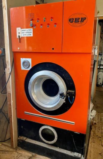 CEF dry cleaning