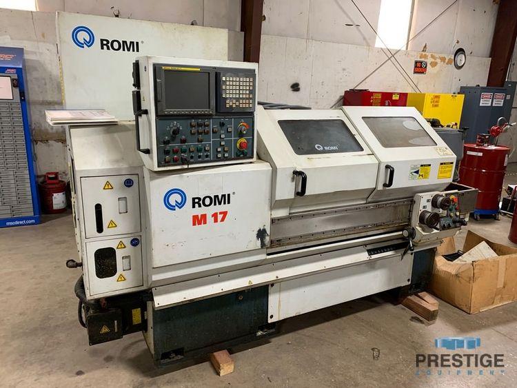 Romi Fanuc 21i-T CNC Control 4000 RPM M17