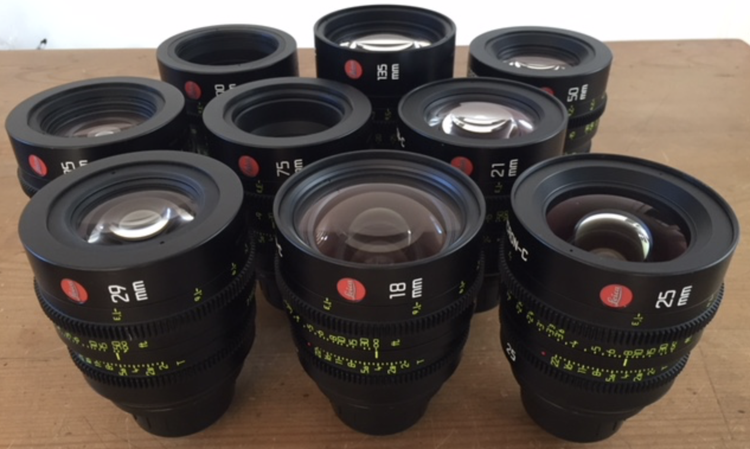 Leica Summicron-C Lens Set
