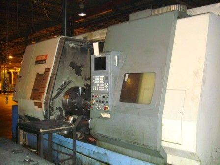 Mazak MAZATROL FUSION 640T CNC CONVERSATIONAL CONTROL Max. 1500 rpm SLANT TURN 450/2000 2 Axis