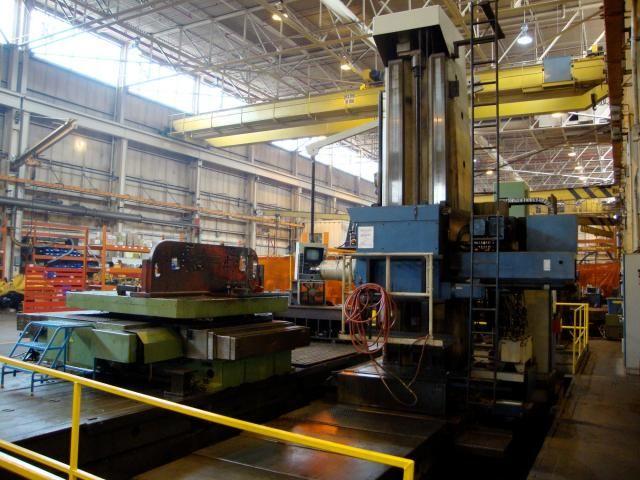 "Union BFP 130 CNC Floor Type Boring Mill 5.12"" 1000 rpm"