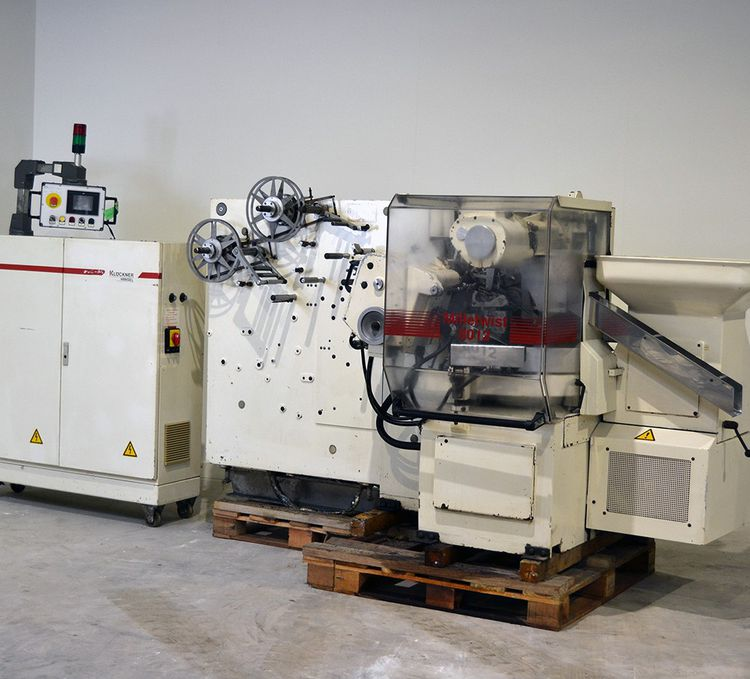 KLOCKNER Milletwist 25 x 17.5mm Wrapping Machine