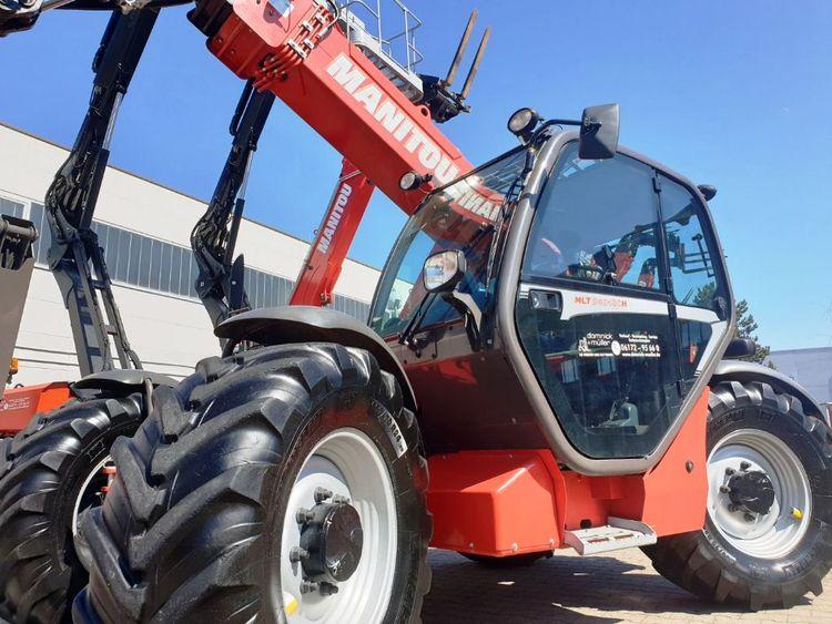 Manitou MLT 940H-120 LSU TÜV Capacity: 4000 kg