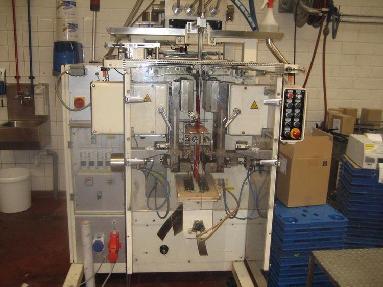 Hassia FVL 18/18, 4-lane sealed edge bag machine