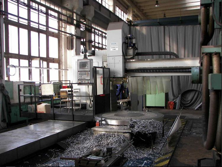 Kovosvit VSPQ 63 CNC mobile drilling machine 3150