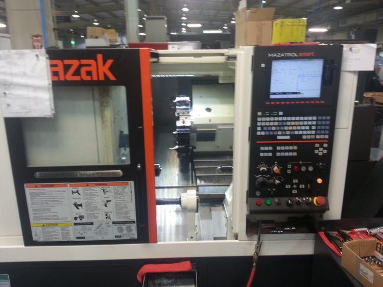 Mazak CNC Controller 6000 rpm Quick Turn Smart 100S 2 Axis