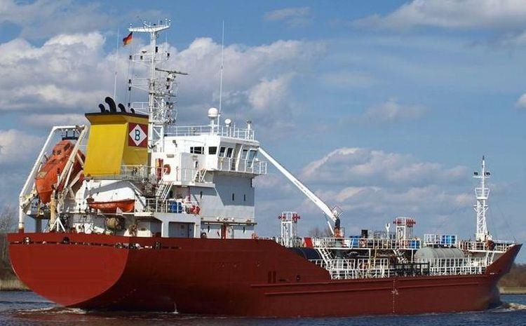 Tersan Oil And Chemical Tanker Deadweight 3450 mts on 6m drft