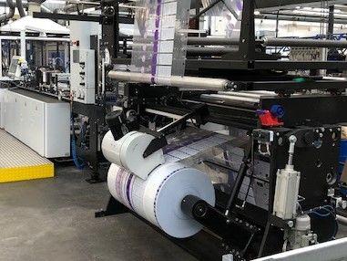 Lemo Intermat850 Wicket Drawstring Bagmaking Machine ( Perfect for hygiene cotton pads bags )
