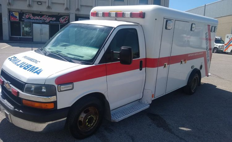 Chevrolet Express Gasoline Dual Stretcher Ambulance