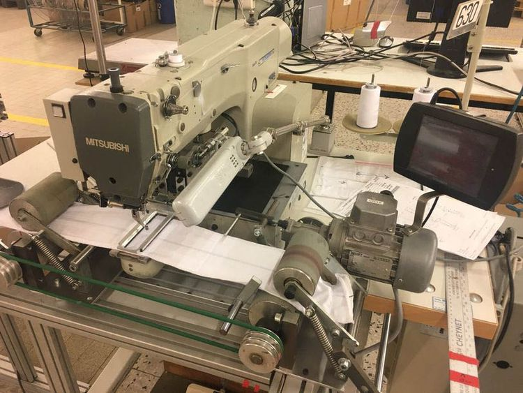 5 Mitsubishi PLKE, PLKG sewing machines