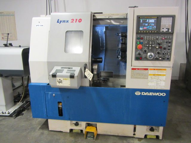 Daewoo Fanuc i CNC Control  LYNX 210A