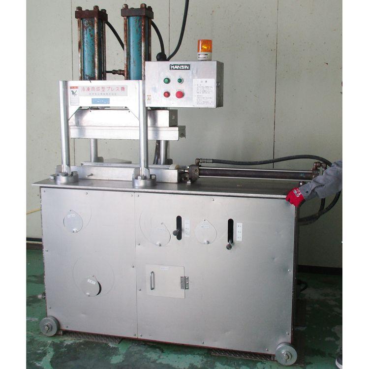 Hanshin  P type Frozen meat molding press machine