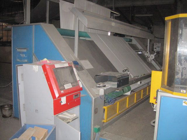 Testa Inspection, rolling and wrapping machine