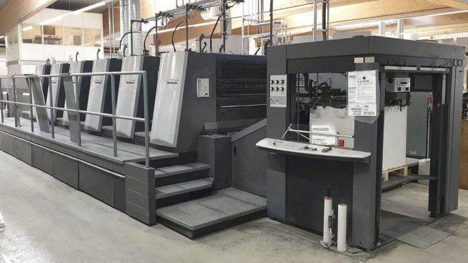 Heidelberg XL105-5+LX2 29 x 41 inch