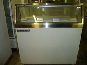DeLuxe Ice Cream Dipping/Display Freezer