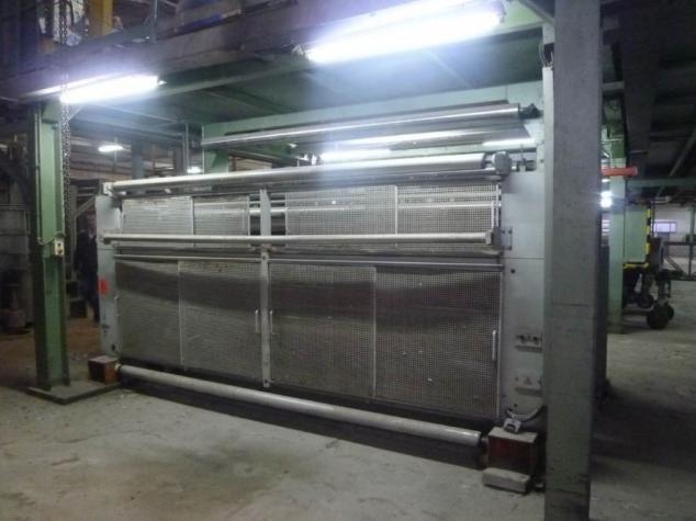 Mahlo RFMC-96H Weft Straightener