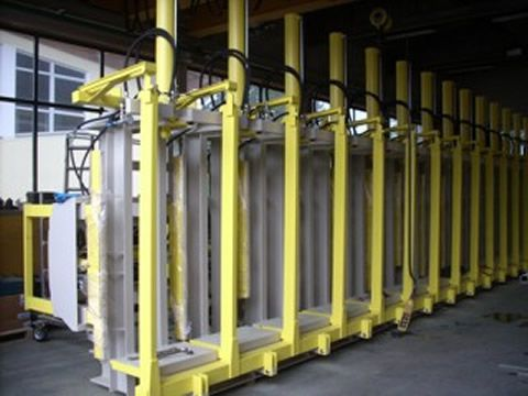 Vertical size press