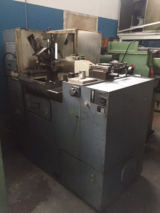 Index Auto single spindle lathe Variable ER 25