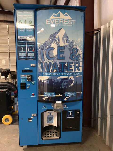 Everest VX4 Ice/Water Vending Machine