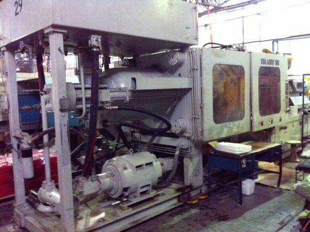 Van Dorn 500 HP 60 500 Ton