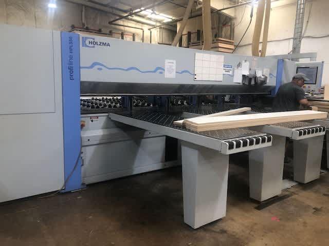 Holzma HPL550/43/16, Panel Saw with Automatic Loading