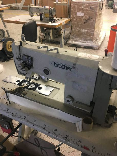 3 Brother LT2 B872 sewing machines
