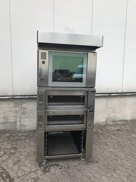 Wiesheu Backcombi B4 + EBO convection oven