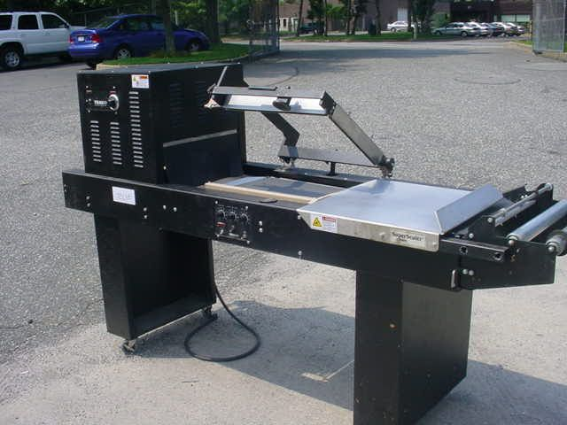 Traco 1620, SEMI-AUTOMATIC L-BAR SEALER WITH SHRINK TUNNEL