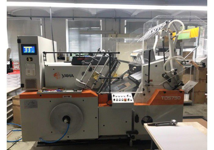 Yawa TDS 750 L Hot foil stamping & die cutting machine
