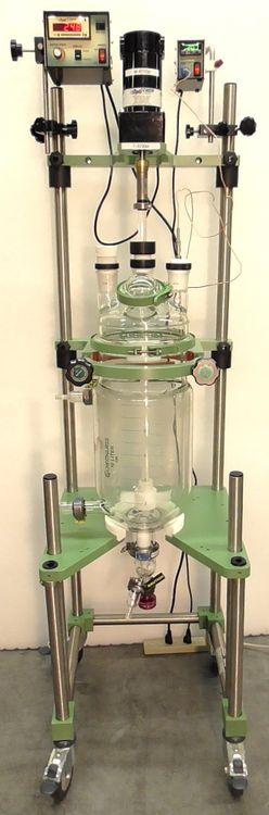 Chemglass 10L Jacketed Bioreactor