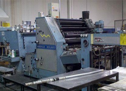 Roland 40 TC. 2 Colors Offset Machine Max. 72 x 102 cm