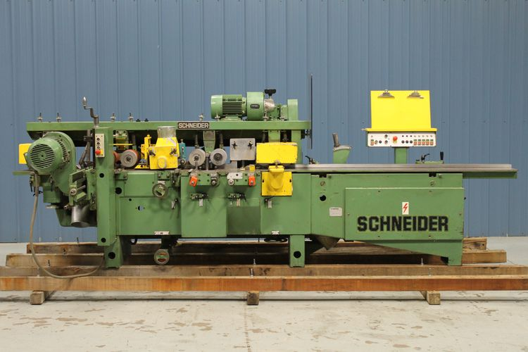 Schneider KM5N Five Head, Moulder
