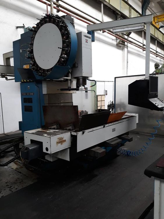 TOS FCQV 63 NC Milling machine - horizontal