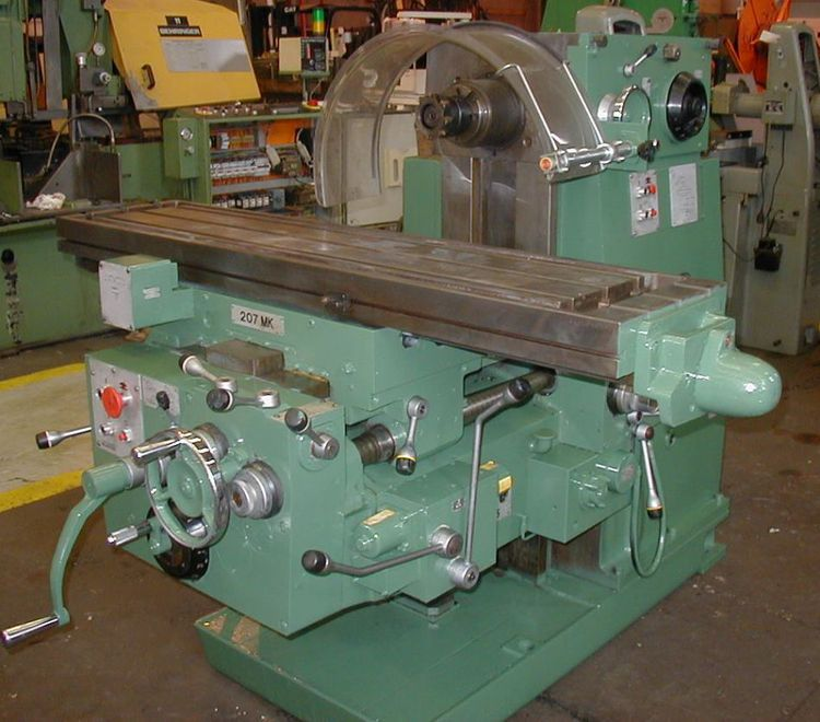 Cincinnati 207MK Horizontal Milling Machine Max. 1,500 rpm