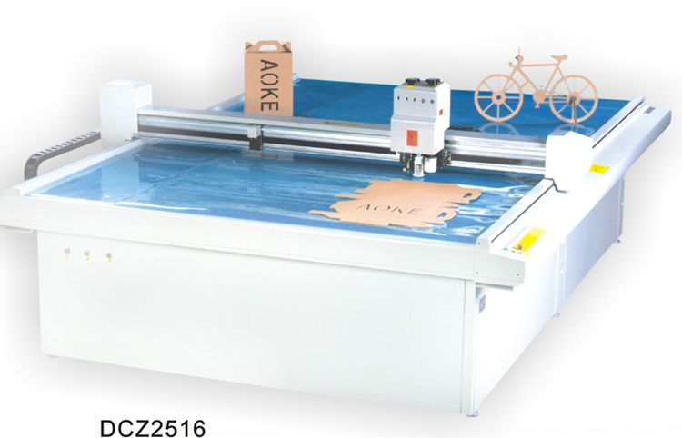 Others DCZ2516 carton box die cut plotter sample flat bed cutting machine DCZ2516 carton box die cut plotter sample flat bed cutting machine