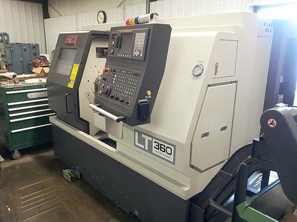 Fanuc 0i-TD CNC Control 4900 RPM YMT LT360 3 Axis