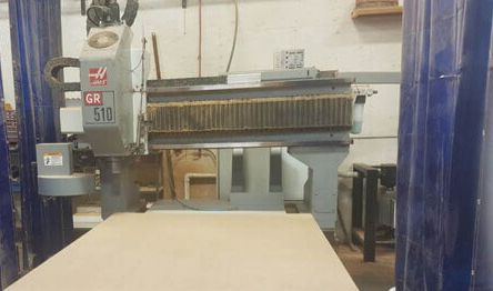 Haas GR510 CNC Router Haas CNC Control