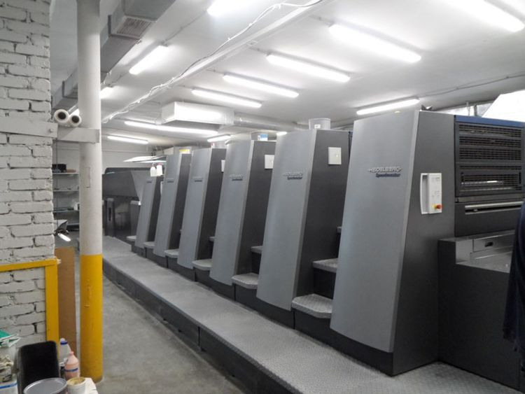 Heidelberg CD74-5LX 530 x 740 mm