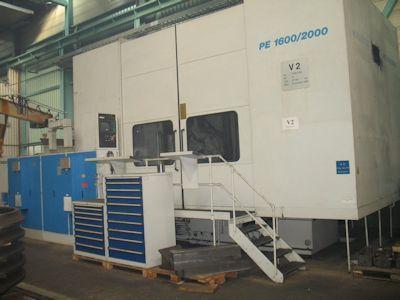 Pfauter PE 1600/2000 - CNC Variable Bevel gear cutting machine