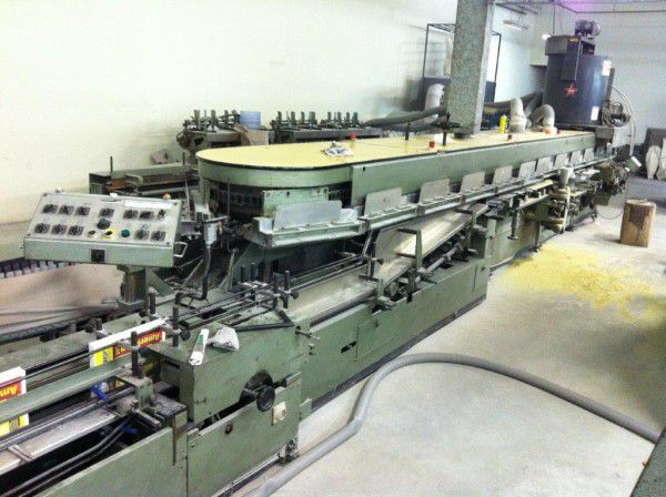 MULLER MARTINI Normbinder NB 3 SF, Multiple clamp perfect binder