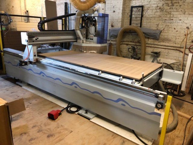 Weeke Vantech 480, CNC Router w/ Boring Block and Tool Changer