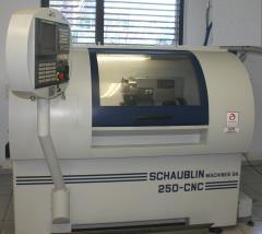 Schaublin Fanuc 21i-TB 5000 RPM 250 CNC R-TM 2 Axis
