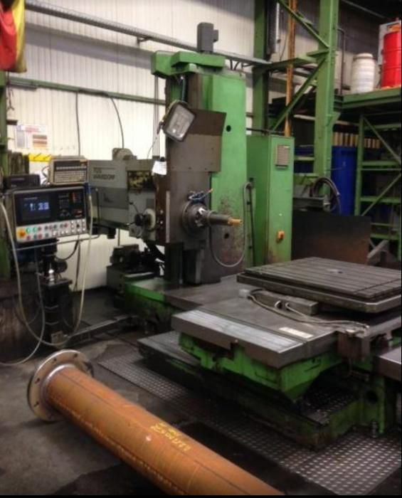 TOS WH 10 CNC 100 mm Variable