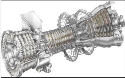 GE (General Electric) LM6000 PD Sprint Gas Turbine - 42 MW