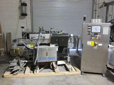 Krones Autocol Pressure Sensitive Labeler