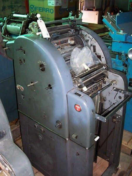 "3 AB Dick 350, 1 color Offset machine 10""x15"""