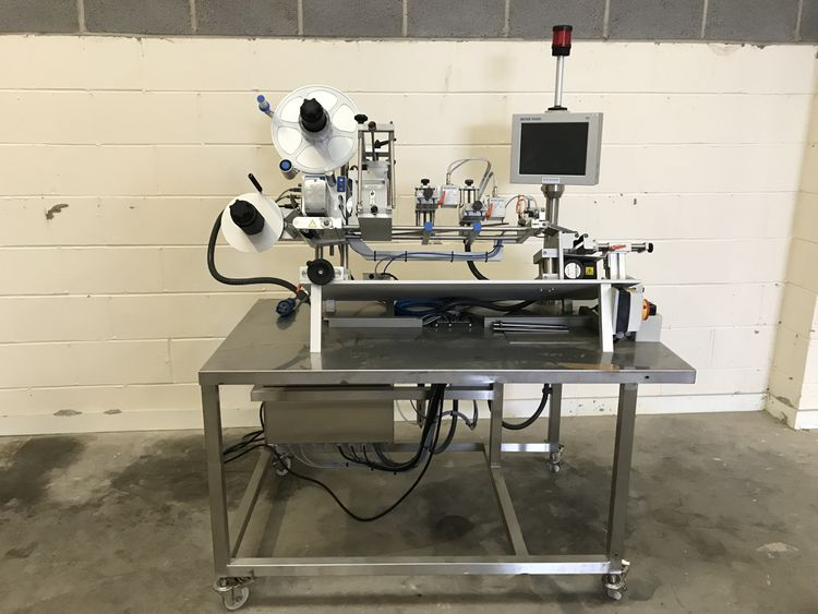 Herma H400 Semi automatic wrap labeller